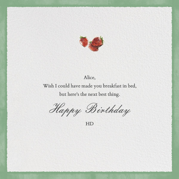 Breakfast in Bed - Paperless Post - Birthday cards - card back
