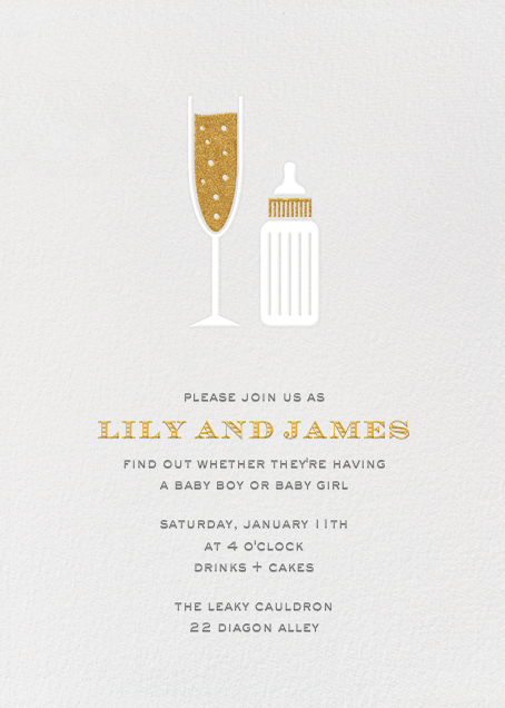 Sip & See - Paperless Post - Baby shower
