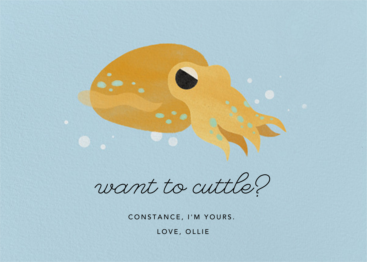 Cuttle With Me - Paperless Post - Love cards