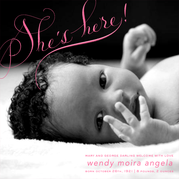She's Here - Photo - Bernard Maisner - Birth