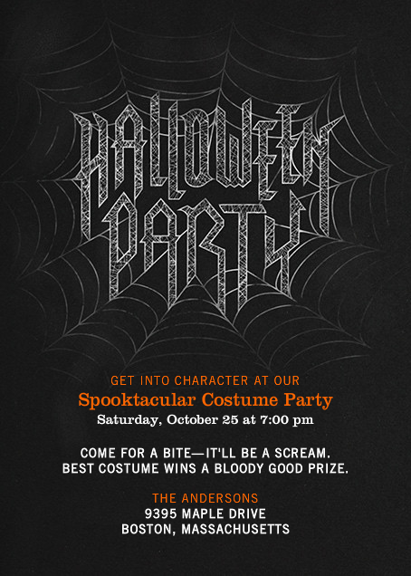 Halloween Party - Crate & Barrel - Halloween