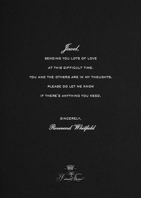 Thinking Of You - Black - Bernard Maisner - Back