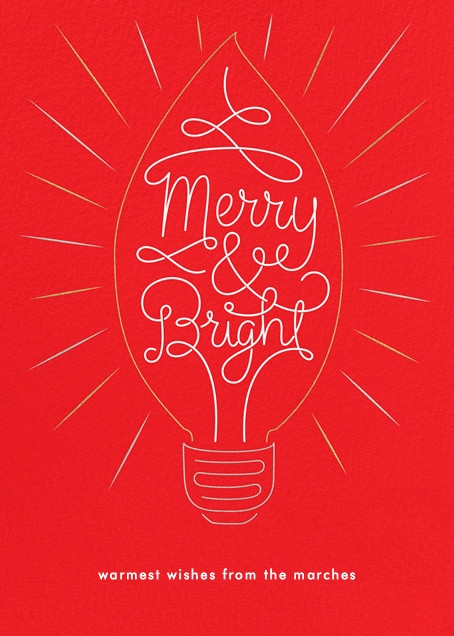 Brilliant Christmas - Paperless Post