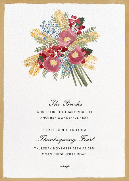 Harvest Bouquet - Tall - Paperless Post - Thanksgiving