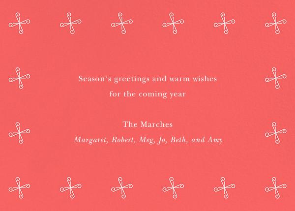Jingle, Jingle - Paperless Post - Holiday cards - card back