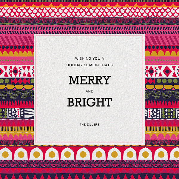 Raanu (Photo) - Marimekko - Christmas - card back