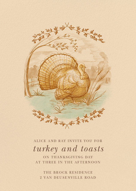 The First Thanksgiving - Paperless Post