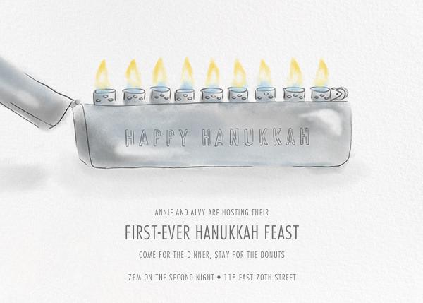Tzippo - Paperless Post - Hanukkah