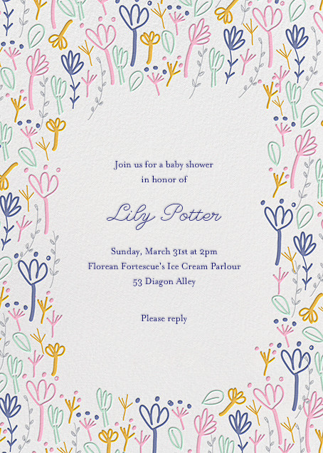 Little Sprouts - Little Cube - Baby shower