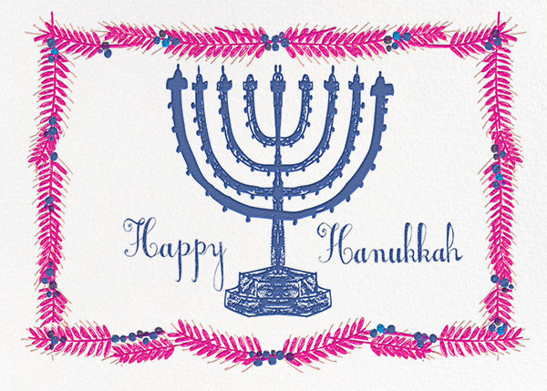 Light and Bright - Magenta - Mr. Boddington's Studio - Hanukkah
