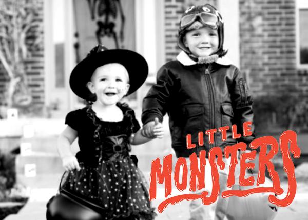 Little Monsters - Paperless Post - Halloween