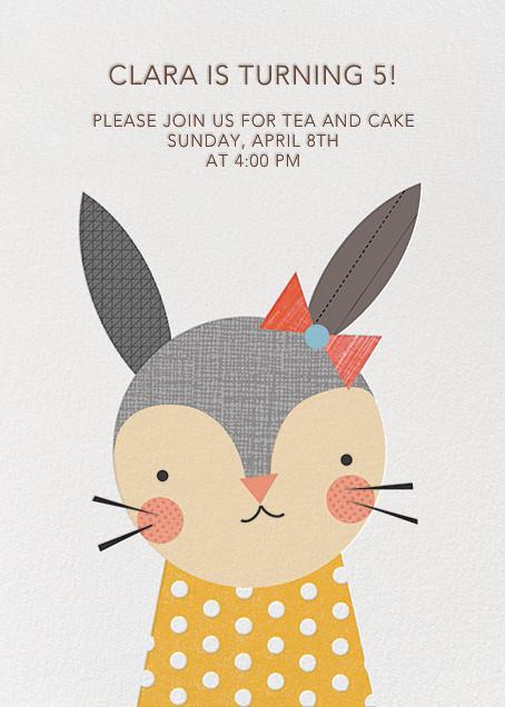 Girl Rabbit - Petit Collage - Kids' birthday