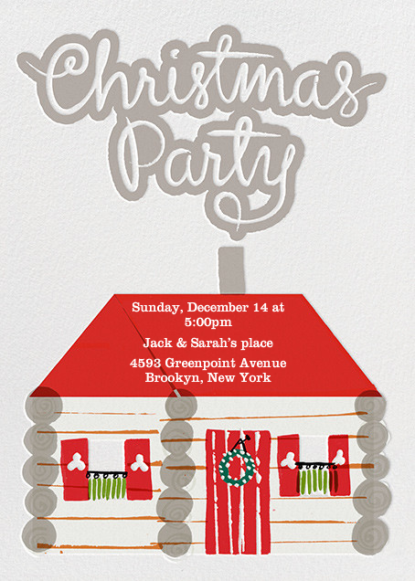 Christmas Party - Crate & Barrel - Christmas party
