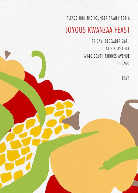 Joyous Feast - Paperless Post - Kwanzaa