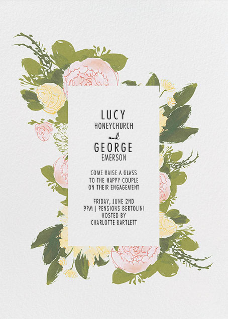 Elizabeth - Olive - Paperless Post - Engagement party
