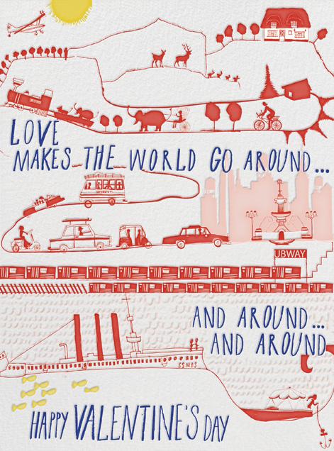 The World Spins - Mr. Boddington's Studio - Valentine's Day