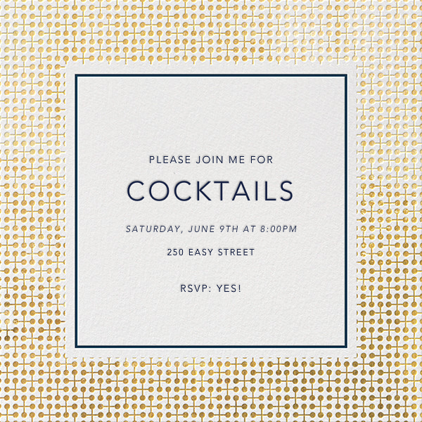 Jacks - Gold - Jonathan Adler - Cocktail party