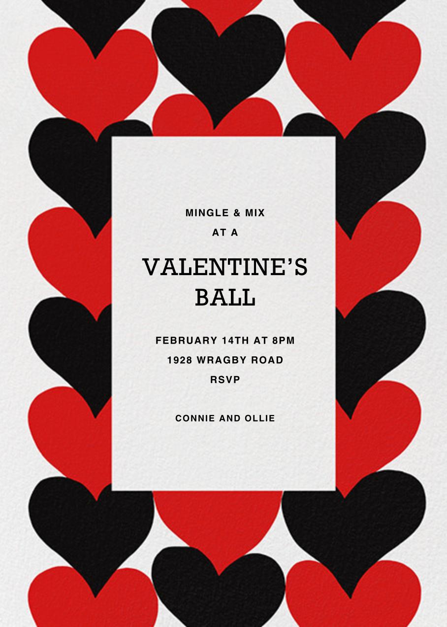 Siamilaissydamet - Marimekko - Valentine's Day