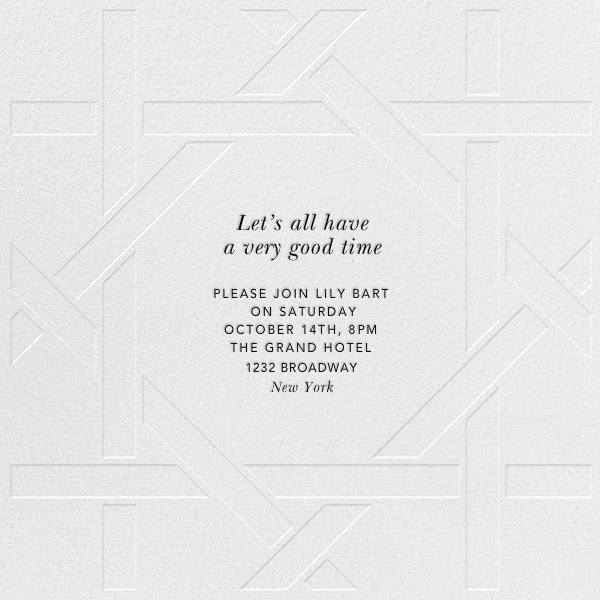 Southampton - Blind - Jonathan Adler