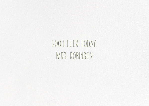 Rooting for You (Nicholas John Frith) - Red Cap Cards - Encouragement - card back