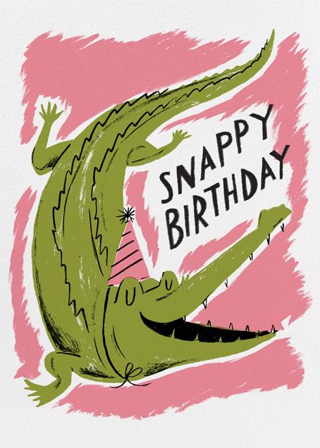 Snappy Birthday (Nicholas John Frith) - Red Cap Cards - Birthday