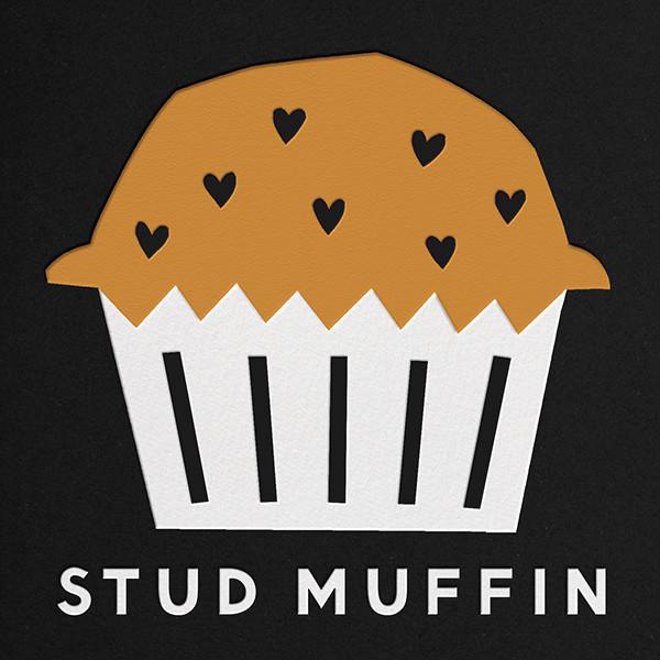 Stud Muffin - The Indigo Bunting - Valentine's Day