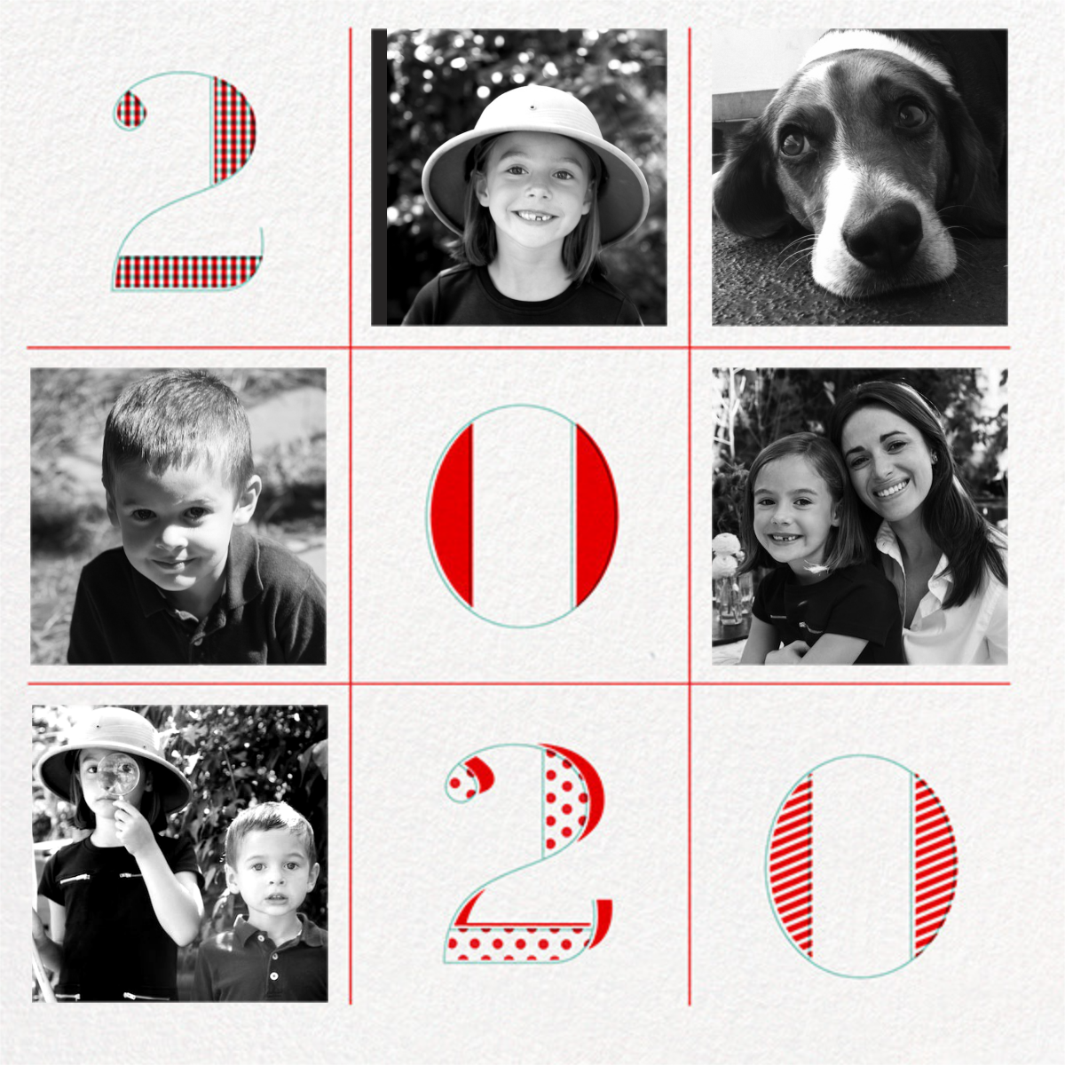 2020 Tic Tac Toe - Paperless Post - New Year