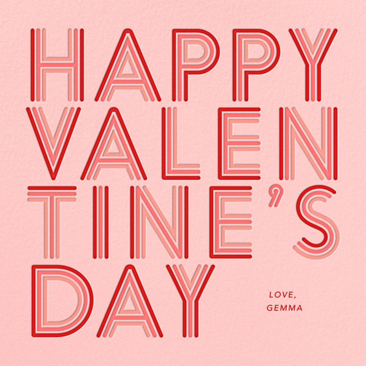 70s Love - Paperless Post - Valentine's Day