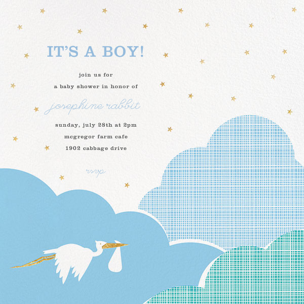 Fly by Night - Blue - Hello!Lucky - Baby shower