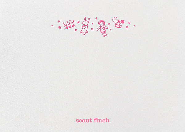 Pink Play Things (Stationery) - Hello!Lucky - Kids' stationery