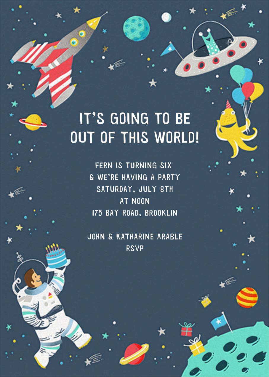 Out of This World - Hello!Lucky - Kids' birthday