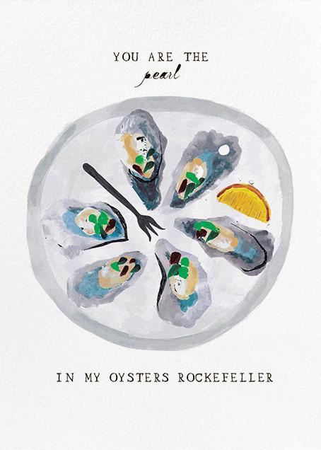 Oysters Rockefeller - Mr. Boddington's Studio - Valentine's Day