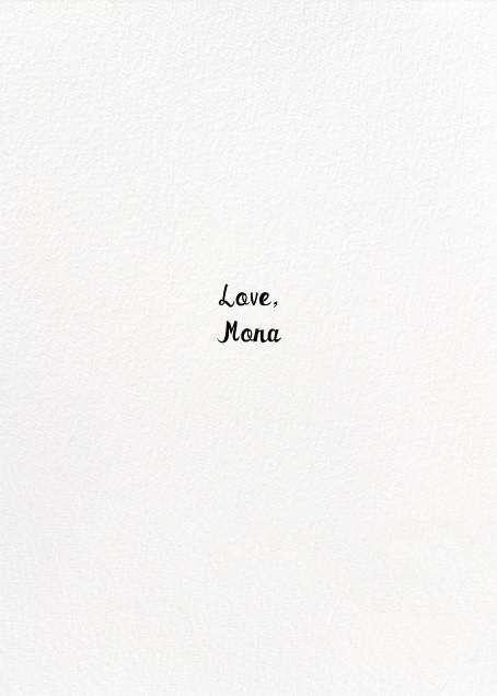 Berry Love - Mr. Boddington's Studio - Sweet valentines - card back