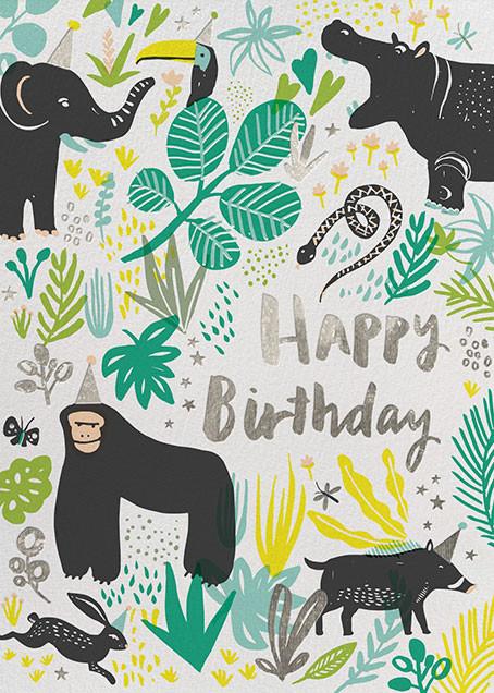 Jungle Birthday - Hello!Lucky