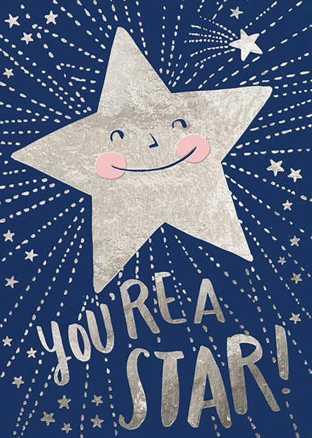 You're a Star - Hello!Lucky - Congratulations