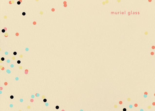 Confetti Circles (Stationery) - Ashley G - null