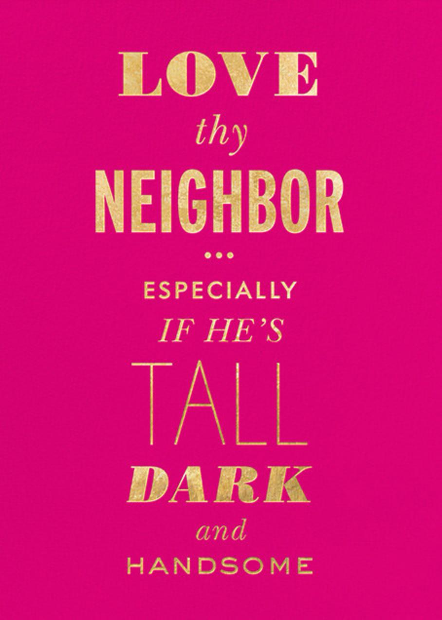 Love Thy Neighbor - kate spade new york - Flirty valentines