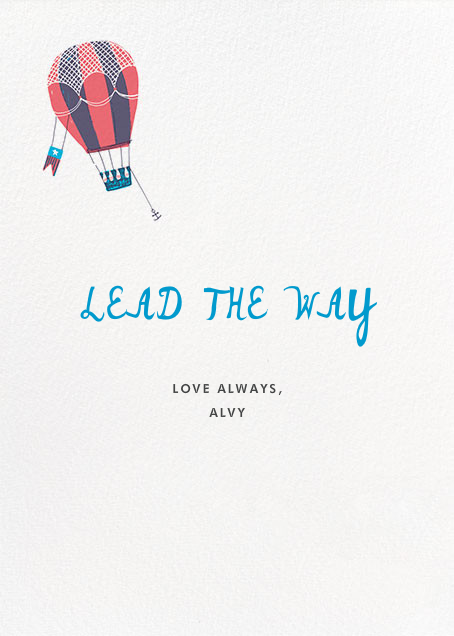 Anywhere with You - Hello!Lucky - Love and romance - card back