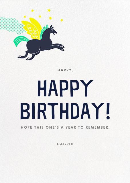 Epic Birthday - Hello!Lucky - Birthday - card back