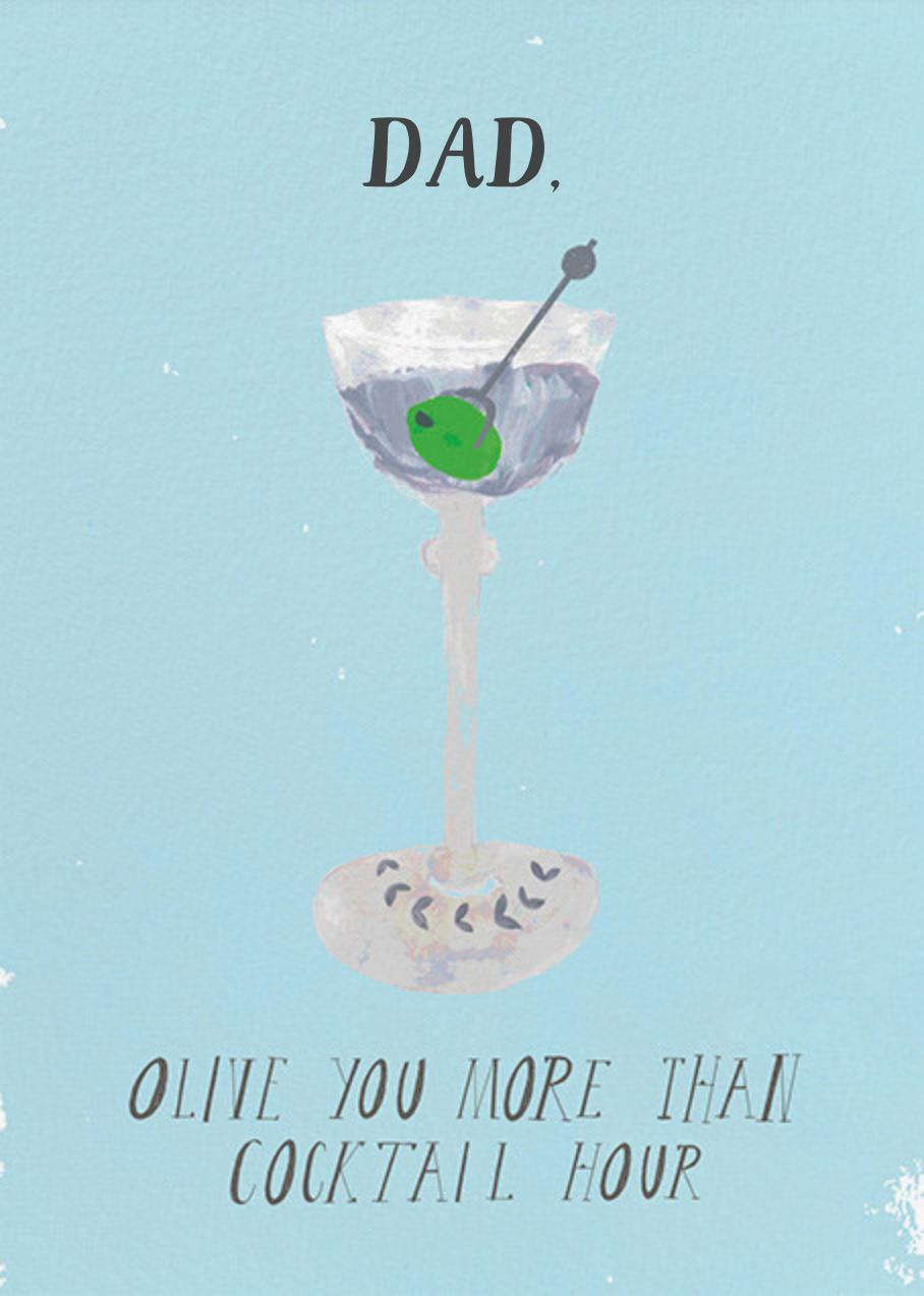 A Martini for Pops - Mr. Boddington's Studio - Father's Day