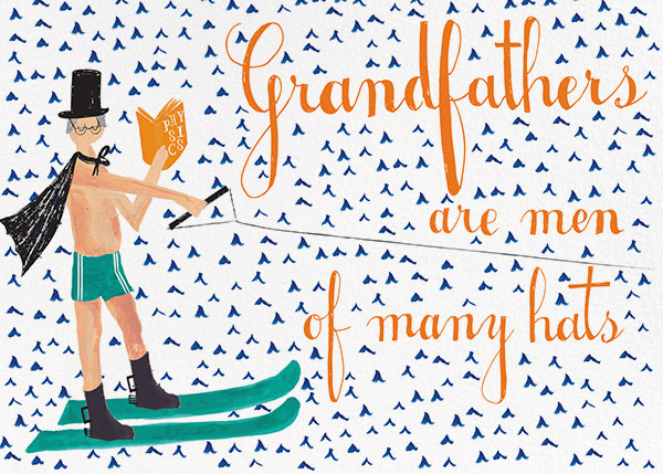 Grandfather is Waterskiing Again - Fair - Mr. Boddington's Studio - Father's Day