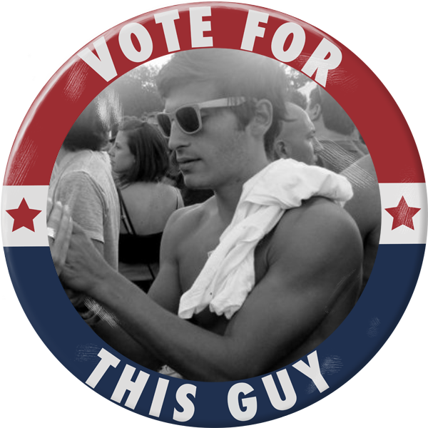 Vote for this Guy - Paperless Post - Election night