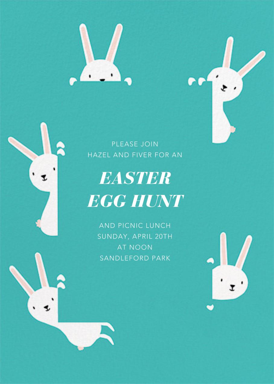 Peek-a-Bun - Paperless Post - Easter