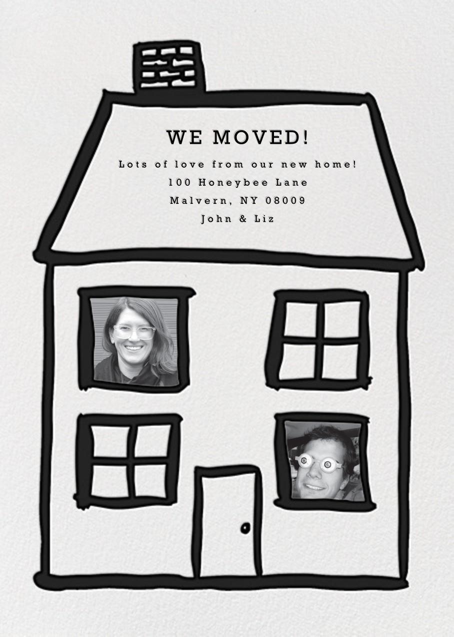 Family Home - 2 - Linda and Harriett - Moving