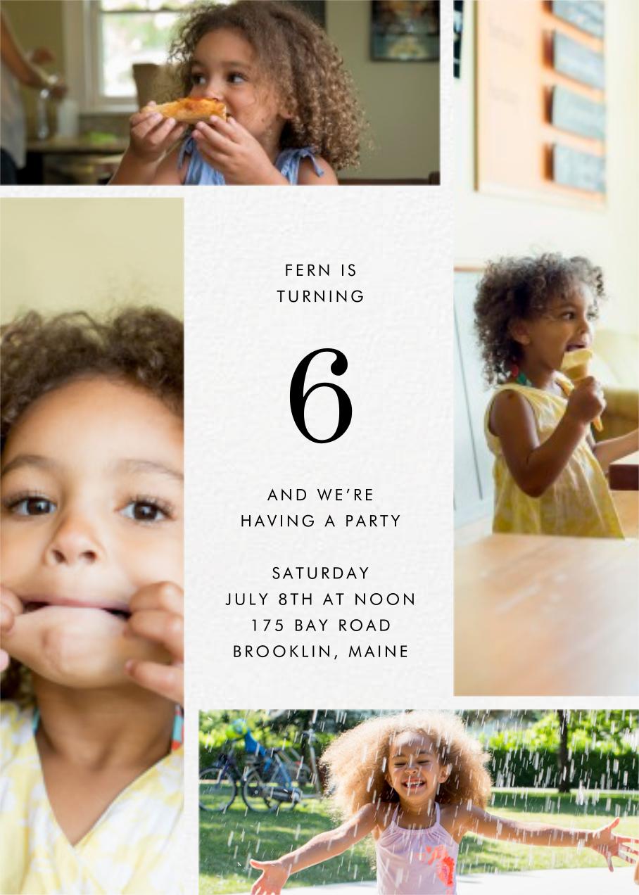 Quad - Ivory - Paperless Post - Kids' birthday