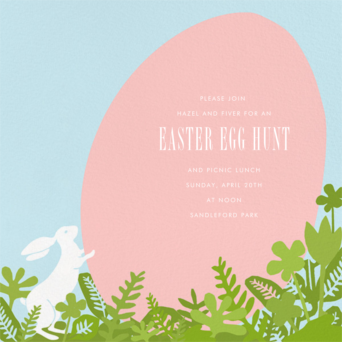 The Great Egg Roll - Paperless Post - Easter