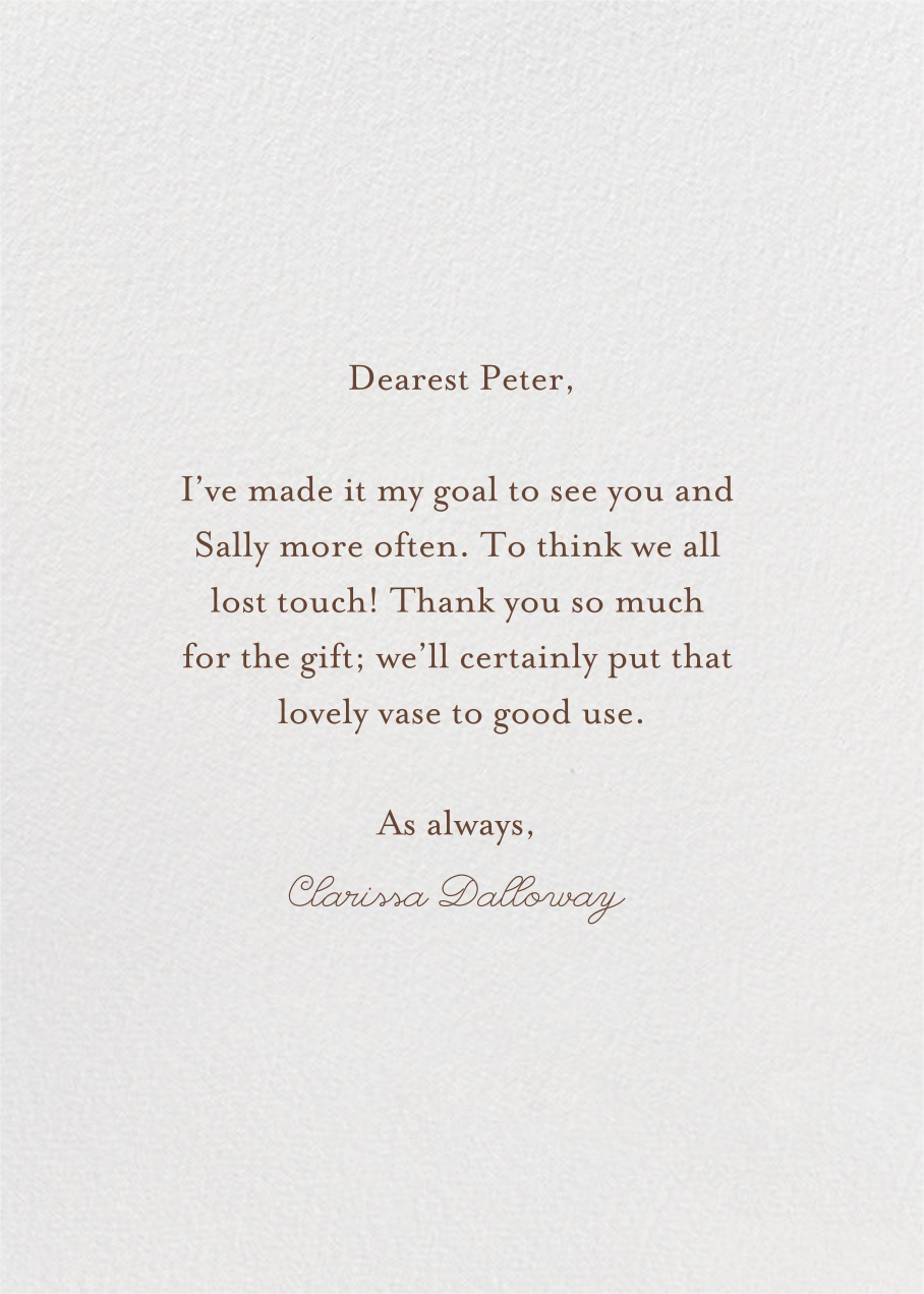 Dragon Vase (Becca Stadtlander) - Red Cap Cards - Graduation thank you cards - card back