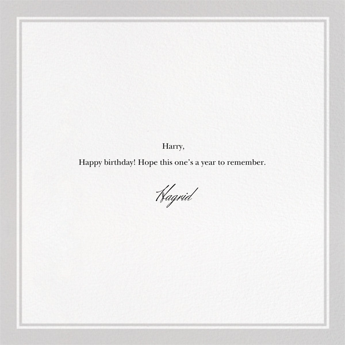 Not Old - The New Yorker - Funny birthday eCards - card back
