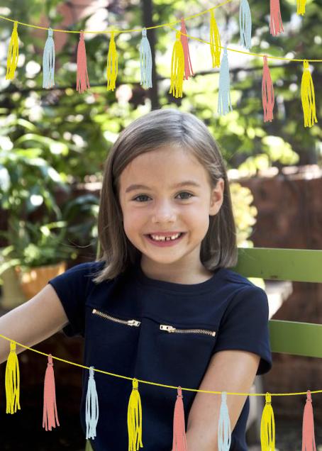 Tasseled II (Photo) - Multi - Paperless Post - Kids' birthday