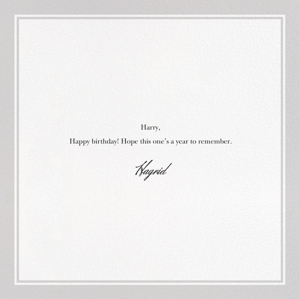 If I Were a Dog - The New Yorker - Funny birthday eCards - card back